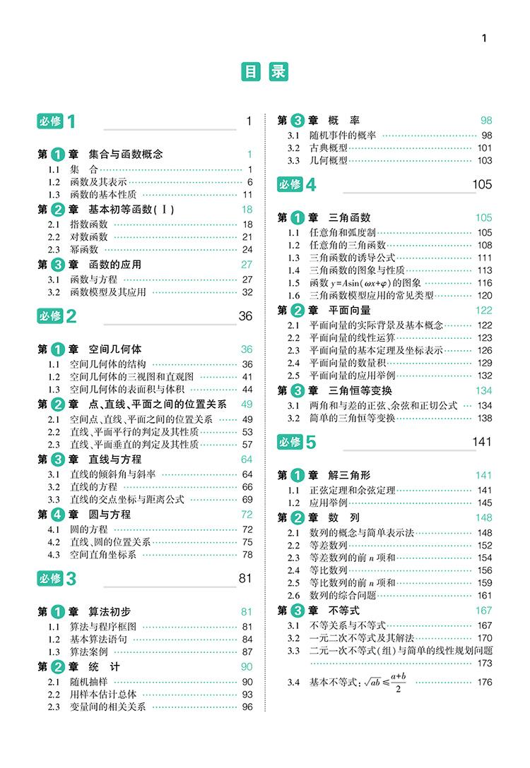 > 官方正品 2016版 高中知识清单 数学 课标版 53必备工具书系列